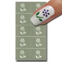 Naggellack Schablone für Nail-Art